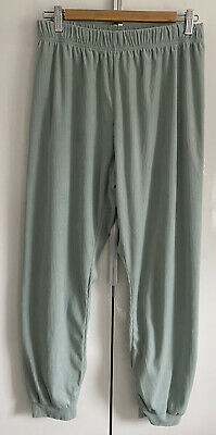 Primark Love To Lounge Pyjama Trousers Light Green Worn Once Medium M 12-14