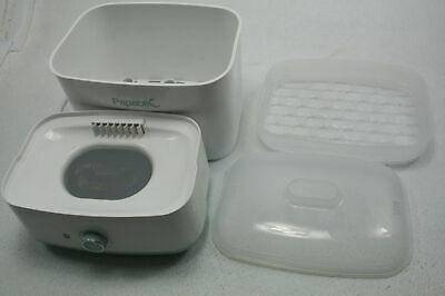 SEE NOTES Papablic 01 Baby Infant Bottle Electric Steam Sterilizer & Dryer White