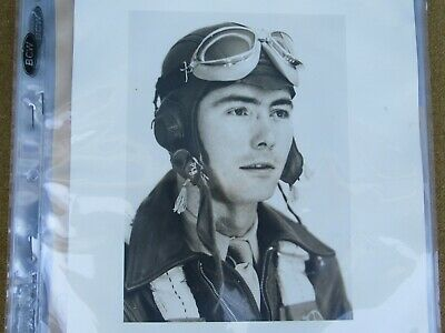 WWII US AAF Air Force Pilot's Group w/ Photos & Newspaper Clippings