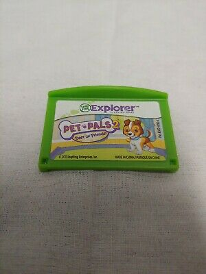 LeapFrog Pet Pals 2 Best of Friends Game Cartridge Leapster Explorer Tested