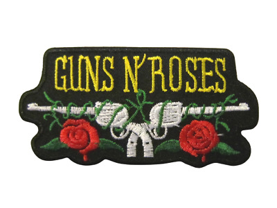 Guns N Roses Not in this Lifetime 2017 3 Inch Iron Or Sew On Patch Badge