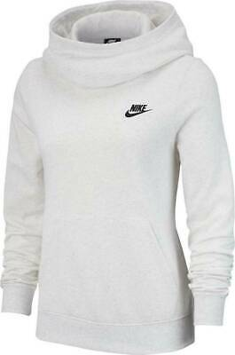 NIKE WOMEN'S $50 Funnel Neck Fleece Pullover Hoodie