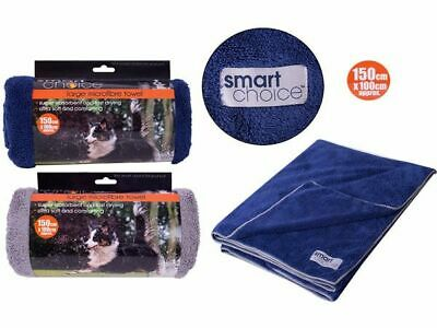 Dog Towel Microfibre Super Quality & Very Absorbent Pet Dry Large Medium Small