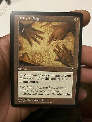 4 Sisay/'s Ring ~ Artifact Visions Mtg Magic Common 4x x4