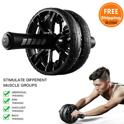 Abs of Steel Fitness Exercise Roller Workout Equipment for Ultimate Ab Stimulator Abdominal Exercise Nicole Miller Ab Roller Wheel Workout