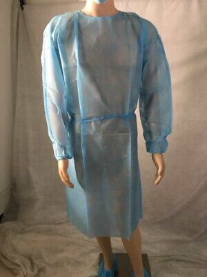 Disposable Isolation Gowns 10 Pieces Per Package