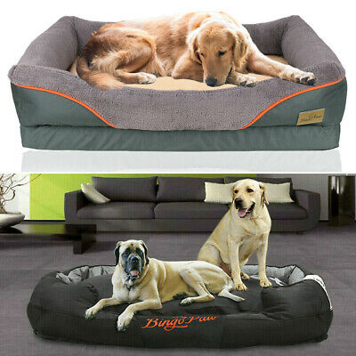 Jumbo Plus Dog Beds Orthopedic Extra Large Thicken Form Waterproof Pet Bed Cover