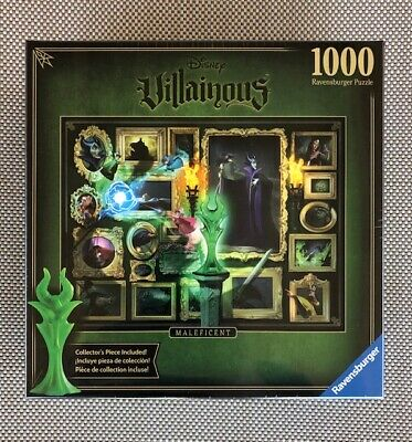 Every Piece is Unique Ravensburger Disney Villainous Jafar 1000 Piece Jigsaw Puzzle for Adults Softclick Technology Means Pieces Fit Together Perfectly