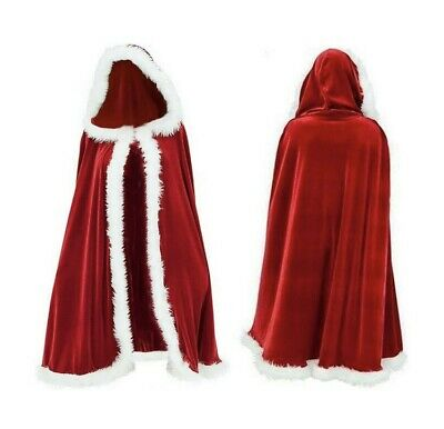 Long Mrs Clause Cape