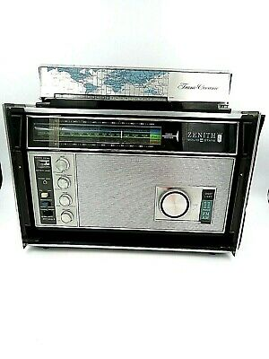 Vintage Zenith Solid State Trans Oceanic Radio - Works