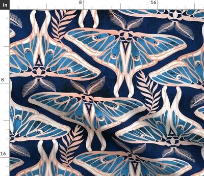 1920S Lined Art Nouveau Deco Large Scale Fabric Printed by Spoonflower BTY