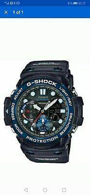 CASIO G SHOCK GULFMASTER GN 1000B 1AER Boussole Thermomètre  3A5hY
