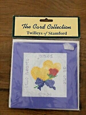 16 CT 15 X 15 Twilleys Counted Cross Stitch Kit by Lauren Tucker 2015 Snail