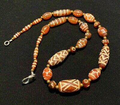 Ancient Pyu beads etch carnelian bead