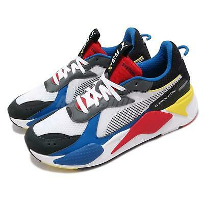 PUMA RS X TOYS Running System White Black Blue Red Yellow