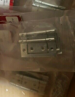 Joblot 100 Suregraft Flush Hinges 75mm Screws included