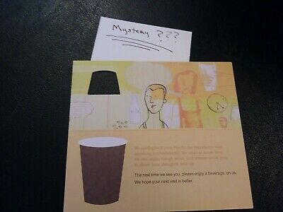 1 Starbuck's Drink Voucher+1 Mystery Combo Meal Voucher (No Expiration)