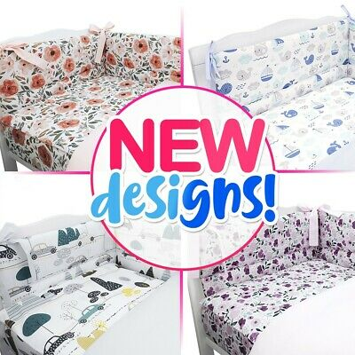 1000+SOLD 50+ DESIGNS BABY BEDDING BED SET fit COT or COT