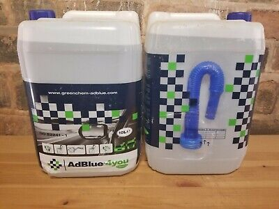 Greenchem AdBlue for ALL Commercial & Automotive Vehicles With Pouring Spout 10L