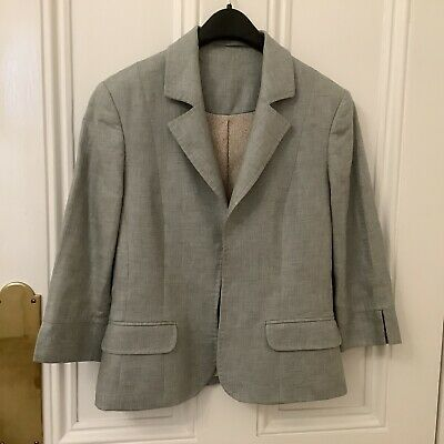 Women S Austin Reed Sz 8 Linen Skirt Suit 10 00 Picclick Uk