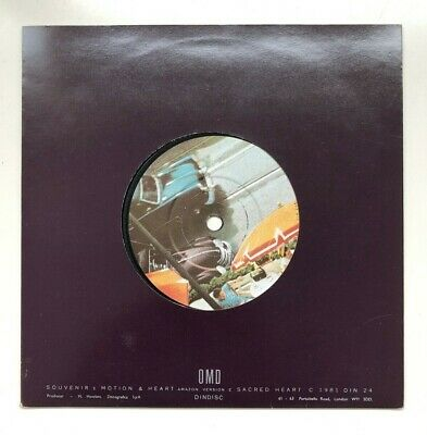 """OMD ORCHESTRAL MANOEUVRES IN THE DARK - Souvenir ~ 7"""" Single"""