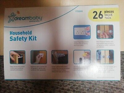 Child Household Home Safety Kit Value Pack - Dreambaby Baby   26 Pieces