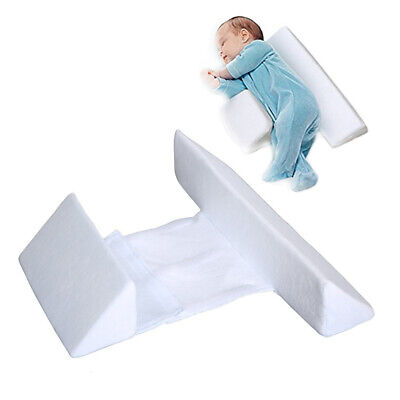 Baby Side Sleep Pillow Anti Roll For Newborn Infant With Safe Side Support US