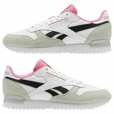 NEW REEBOK MEN'S Classic Leather Clip Trainers EUR 38,84