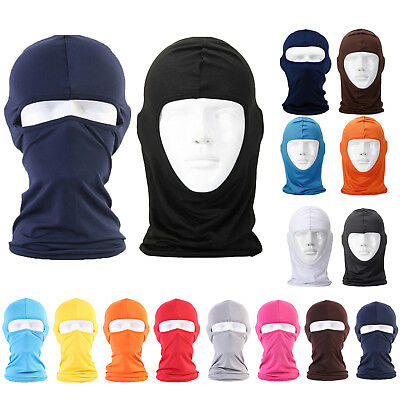 Motorcycle Motorbike karting Balaclava Ski Face Mask Under Helmet Neck Warmer