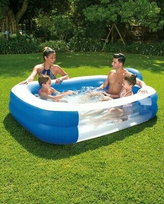 Large Family Swimming Pool Outdoor Garden Summer Inflatable Kids Paddling Pools.