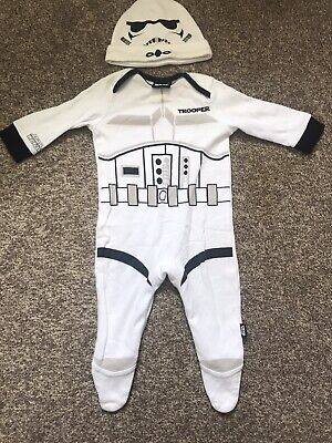 NEW Official Star Wars Dribble Bib Baby Darth Vader Storm Trooper R2D2 0-6Months