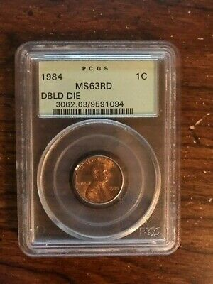 1984 Memorial Lincoln Cent - MS 63RD - Double Die PCGS