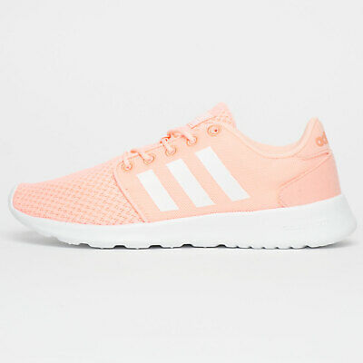 ADIDAS NEO CLOUDFOAM QT Racer Womens Running Shoes Fitness