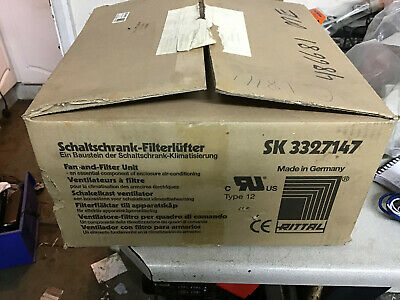 Boxed NOS Rittal SK3327147 Industrial Fan for Equipment Enclosures - 3phase