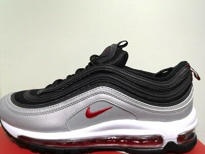 CHAUSSURES NIKE AIRMAX 97 Black, Argent, Red - EUR 75,00 | PicClick FR