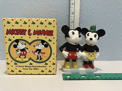 figurine mickey disney minnie 1930