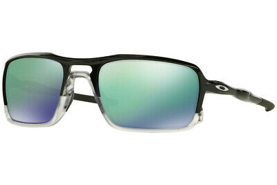 Oakley TRIGGERMAN Sunglasses OO9266-02 Polished Black Frame W/ Jade Iridium Lens
