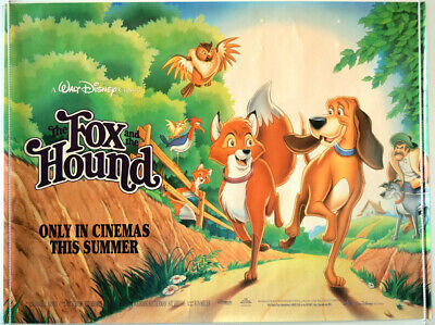 Disneys The Fox And The Hound 1981 Super 8 Colour Sound 400Ft Cine 8Mm Film