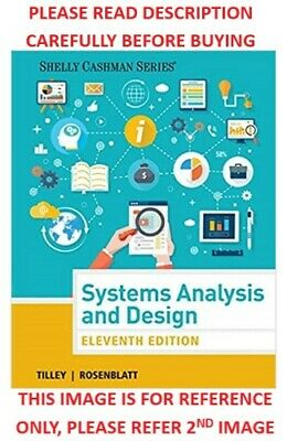 Systems Analysis And Design Shelly Cashman Series 11th Edition By Scott Tilley 9 99 Picclick
