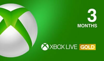 Xbox Live GOLD Subscription Card 3 Months - Key GLOBAL