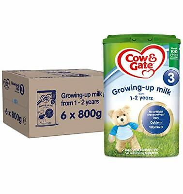 Cow & Gate 3 Growing Up Milk From 1-2 Years 800 g, Pack Of 6