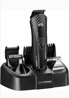 BaByliss for Men 8 in 1 Body Grooming and Hair Clipper Kit 7008074 R