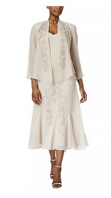 Women's Formal Jacket & Dress Size 18 R&M Richards Mother of the Bride #BR16 NEW