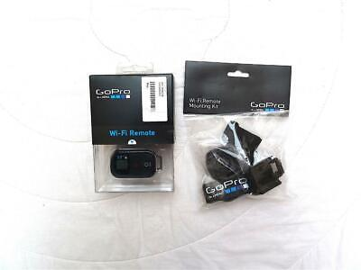 GOPRO HERO 3 WI-FI REMOTE + MOUNTING KIT + AUTO CHARGER + 3.5mm MIC ADAPTER LOOK