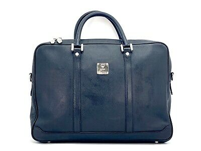 MCM BUSINESS BAG Schwarz Black Messenger Laptoptasche