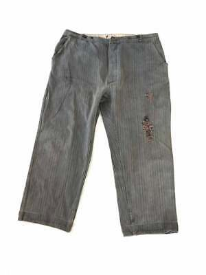 Vintage French 1930s Workwear Trousers/ Pants