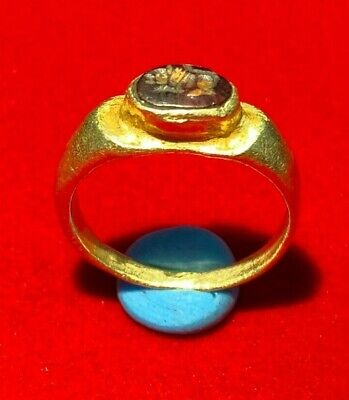 Ancient gold ring from ancient Greeks times