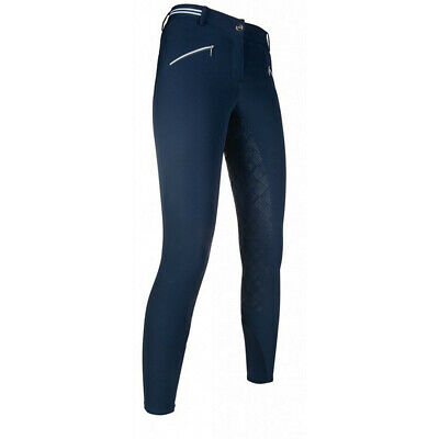QUEENS COLLECTION HKM LG LADIES HORSE RIDING FULL SEAT BREECHES