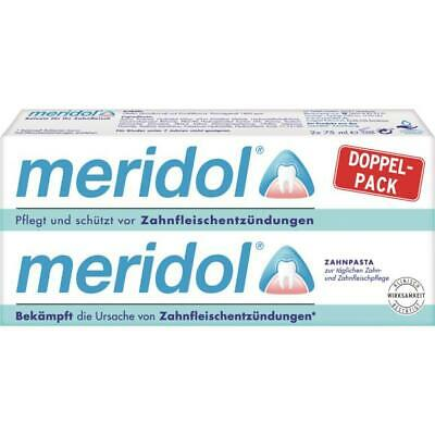 4 X 75ml / MERIDOL Encía Pasta de Dientes 75ml) 2 X Doble Pack)