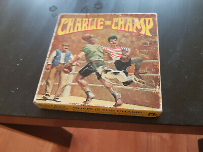 The Champ- Charlie Chaplin 200Ft Super 8 8Mm B/W Silent Cine Arrow Film